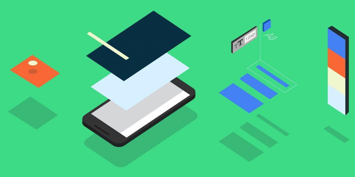 В Android 12 появится цветовые темы