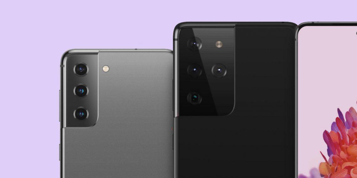 Без microSD и зарядки: новые промофото Galaxy S21