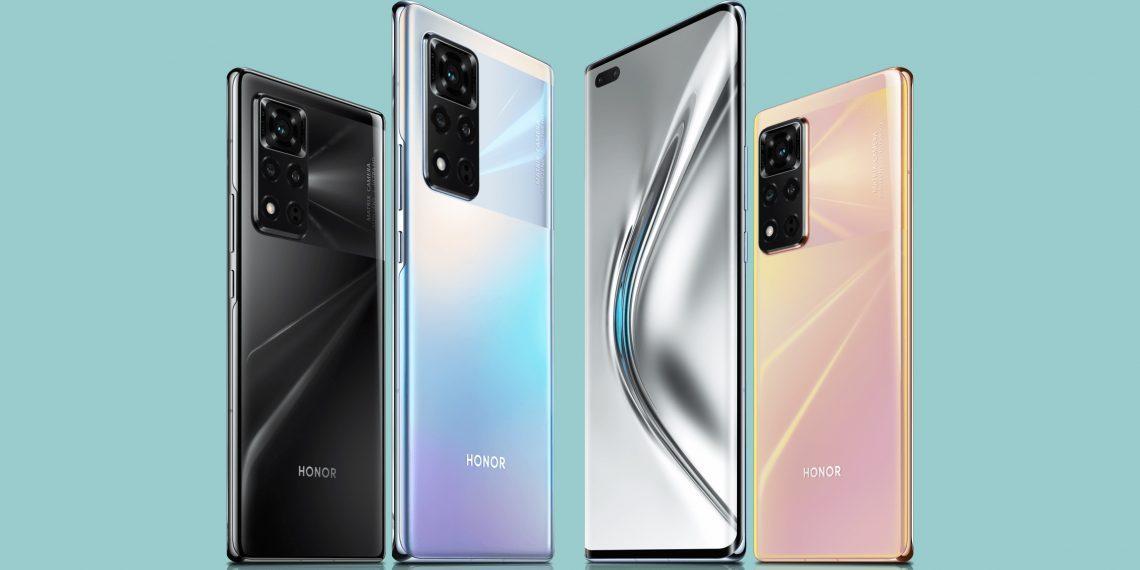 Представлен Honor V40 5G — первыйфлагман без Huawei