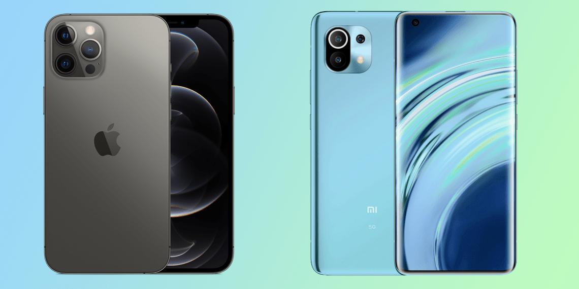Камеру Xiaomi Mi 11 сравнили с iPhone 12 Pro Max