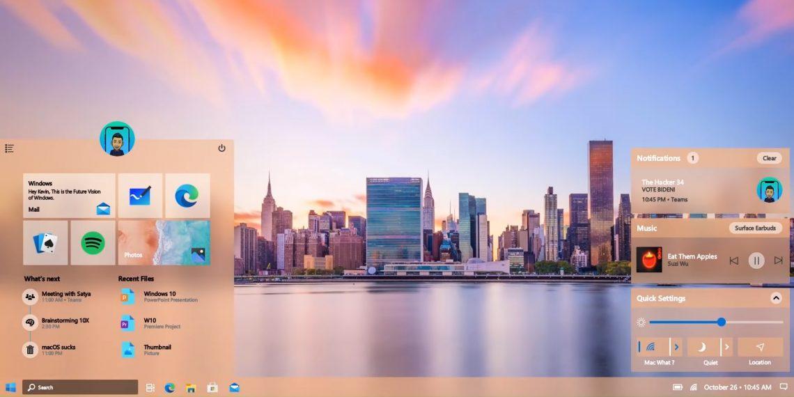Windows 10 ждёт обновление Sun Valley. Что известно