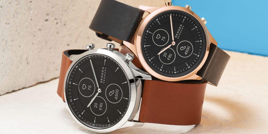 Skagen представила часы с дисплеем E-Ink и стрелками