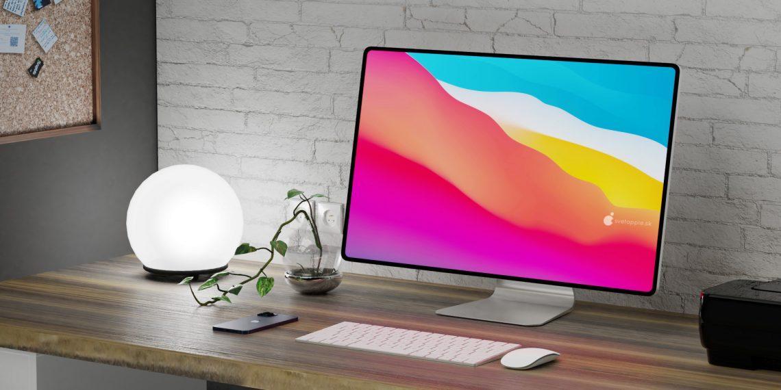 Инсайдер показал новый iMac, который выйдет в пяти цветах