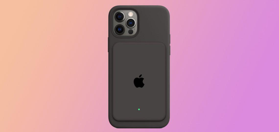 Apple работает над внешним аккумулятором для iPhone с магнитным креплением
