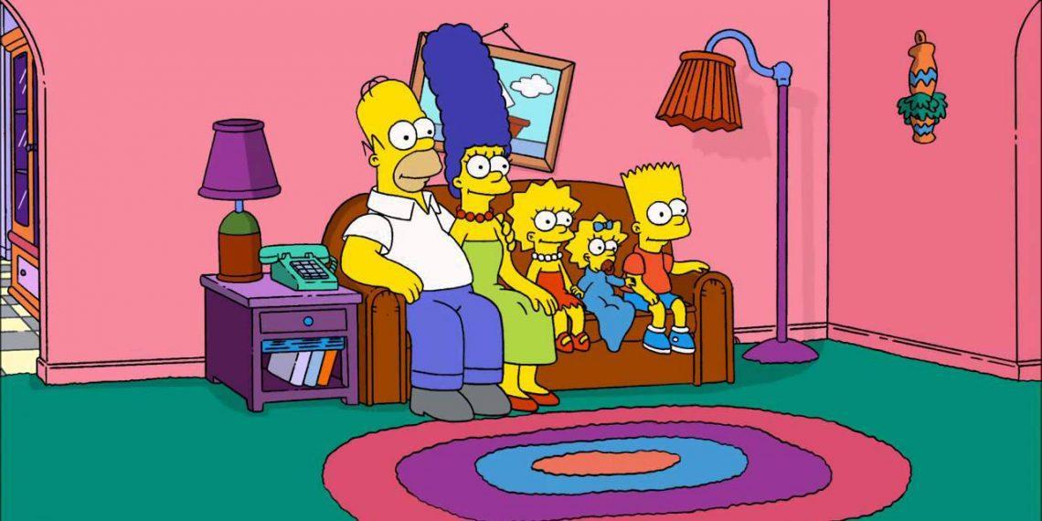 Заставку «Симпсонов» полностью воссоздали из стоковых видео