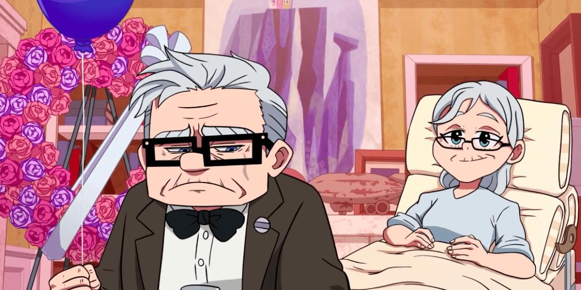 Если бы мультфильм «Вверх» был аниме