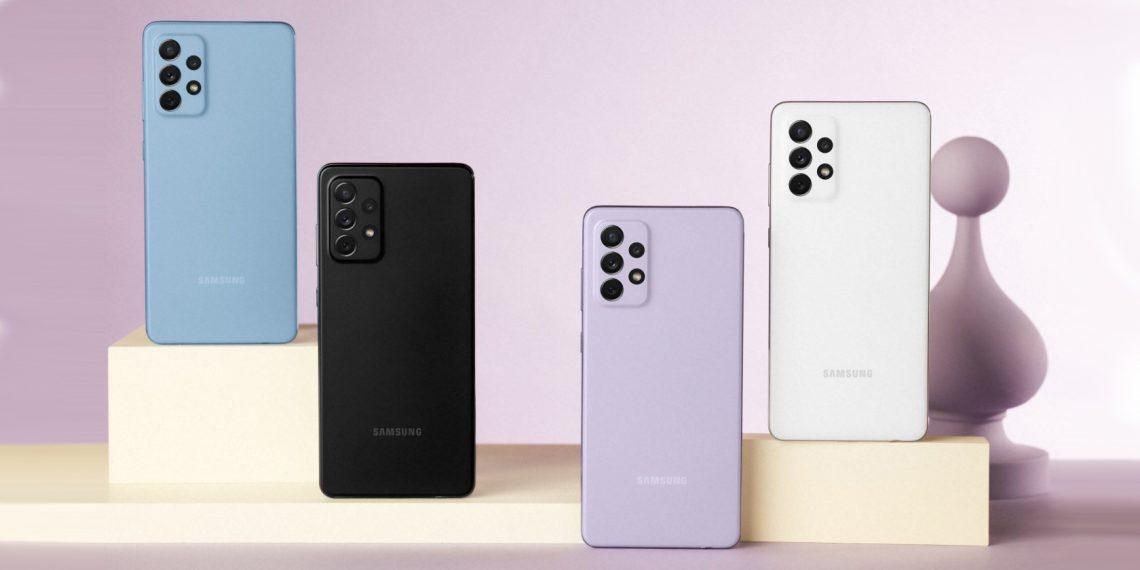 Samsung представила Galaxy A52 и A72 с процессорами Snapdragon