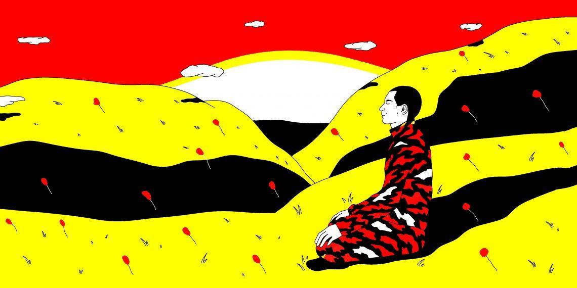 Военная медитация, которая позволит заснуть даже при бомбёжке