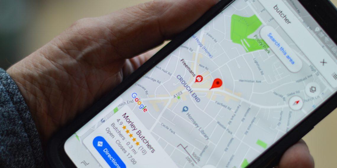 В «Google Картах» можно дорисовать дороги