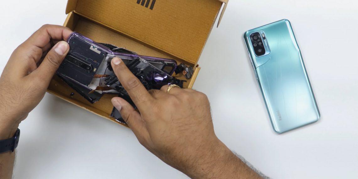Топили, царапали и бросали на пол: большой краш-тест Xiaomi Redmi Note 10
