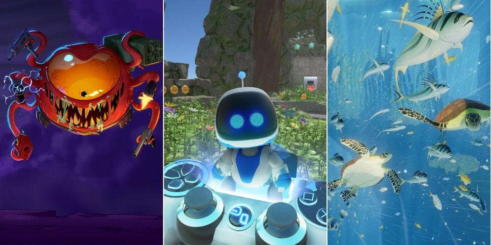 Sony раздаёт сразу 9 игр для PS4 и PS VR