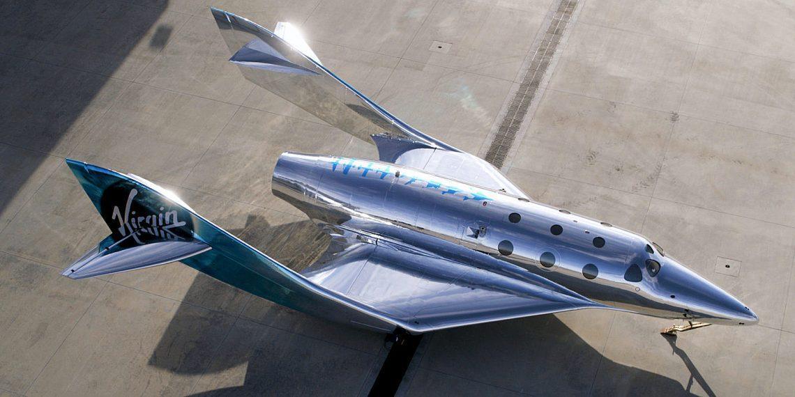 Virgin Galactic представила SpaceShip III — новый космоплан для суборбитальных полётов