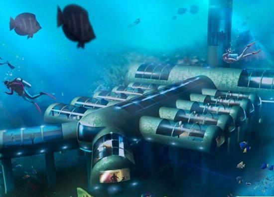 Невероятный отель Poseidon Undersea Resort на Фиджи